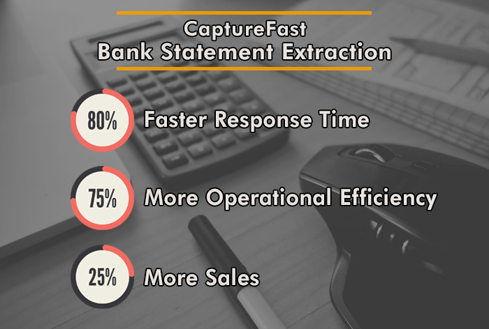 Bank Statement Extraction CaptureFast results 2