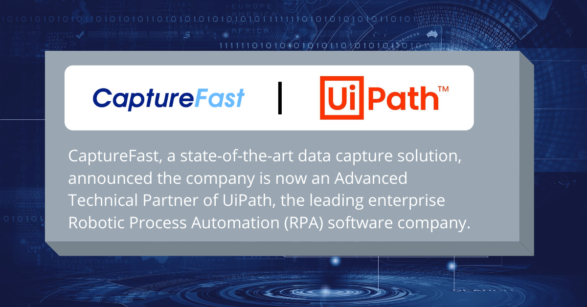 CaptureFast Uipath Partner